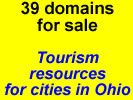 Potential tourism resources for cities in Ohio