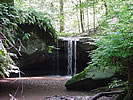 Riffle Waterfall near Millwood, West Virginia